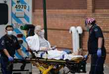 وصول مريض إلى أحد مستشفيات نيويورك