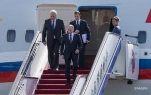 С самолетом Путина произошло ЧП в аэропорту