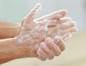 Roku mazgāšana