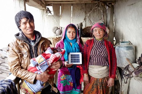 solar lights in nepal