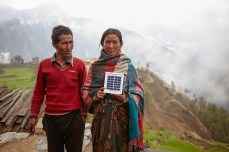 solar lights in nepal gorkha-1