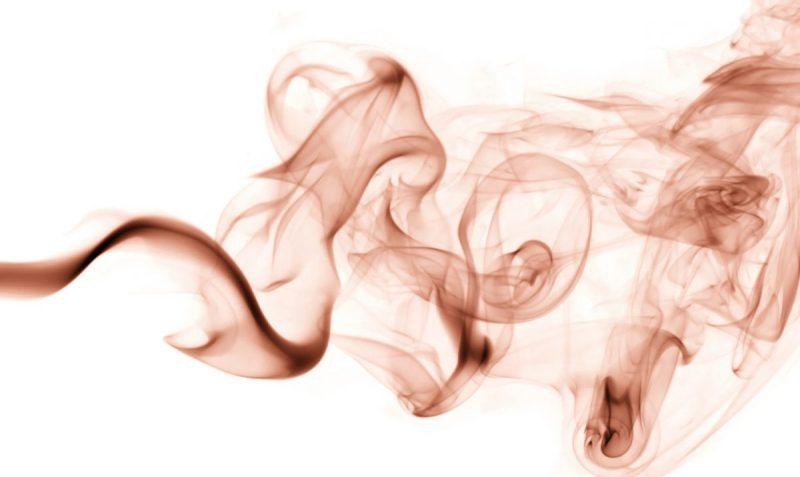 Dampfwölkchen