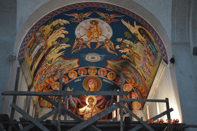 Pictura bolții Sfântului Altar