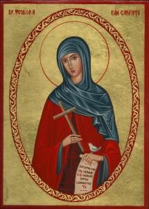 Sf Teodora din carpati