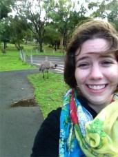 Look, an emu!