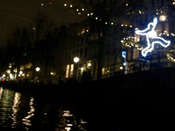 Lights over the canals