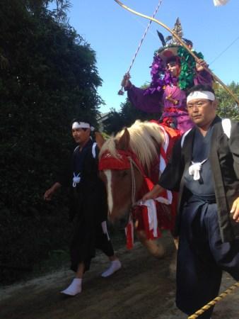 Yabusame - horseback archery