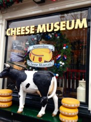 This turned out to be a shop and not a museum at all, but they certainly had some interesting cheeses. Katie bought a poison ivy cheese....