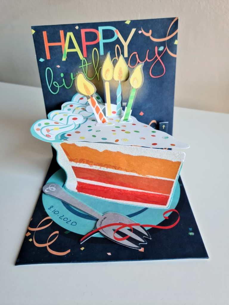 כרטיס ברכה Happy birthday - אחת המתנות בחדר בריחה ביתי.