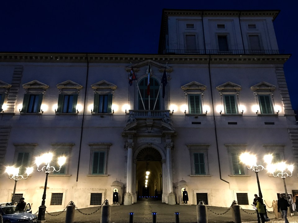 Rome - Piazza del Quirinale