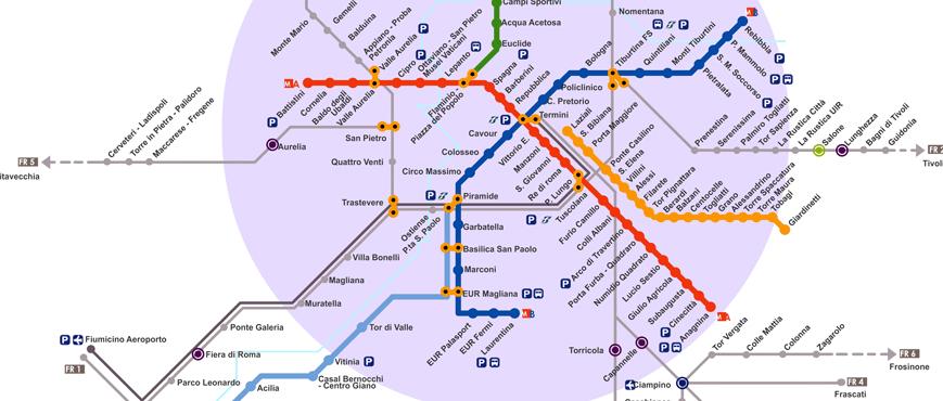 Rome - Metro Roma