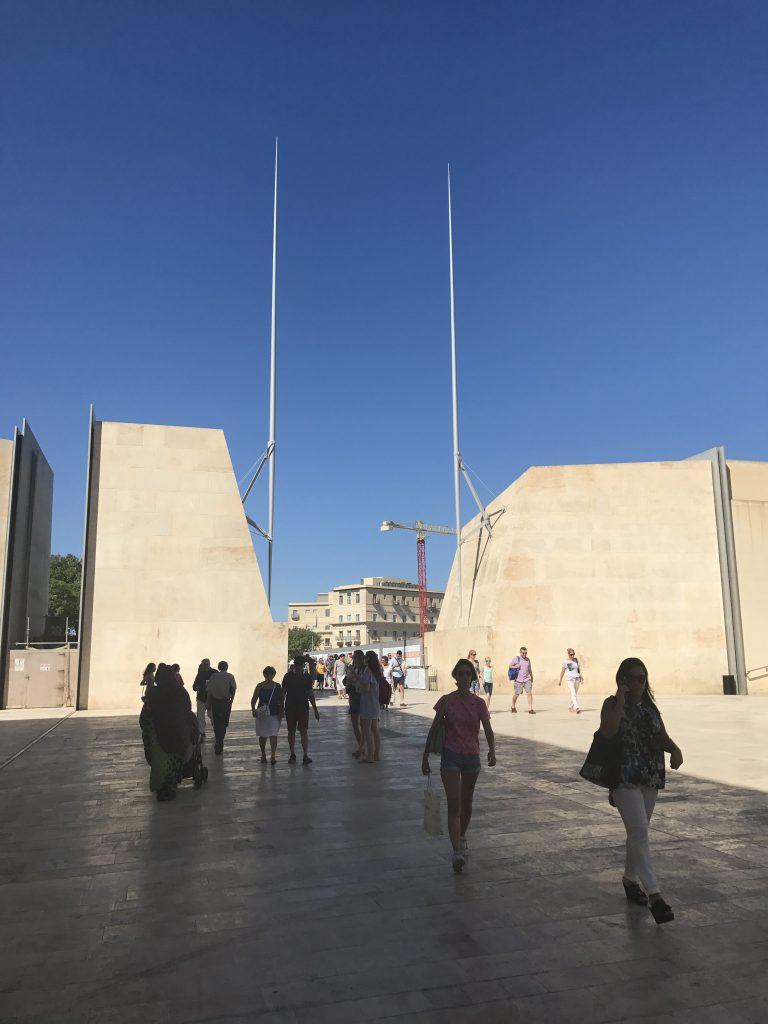 La Valette - City gate