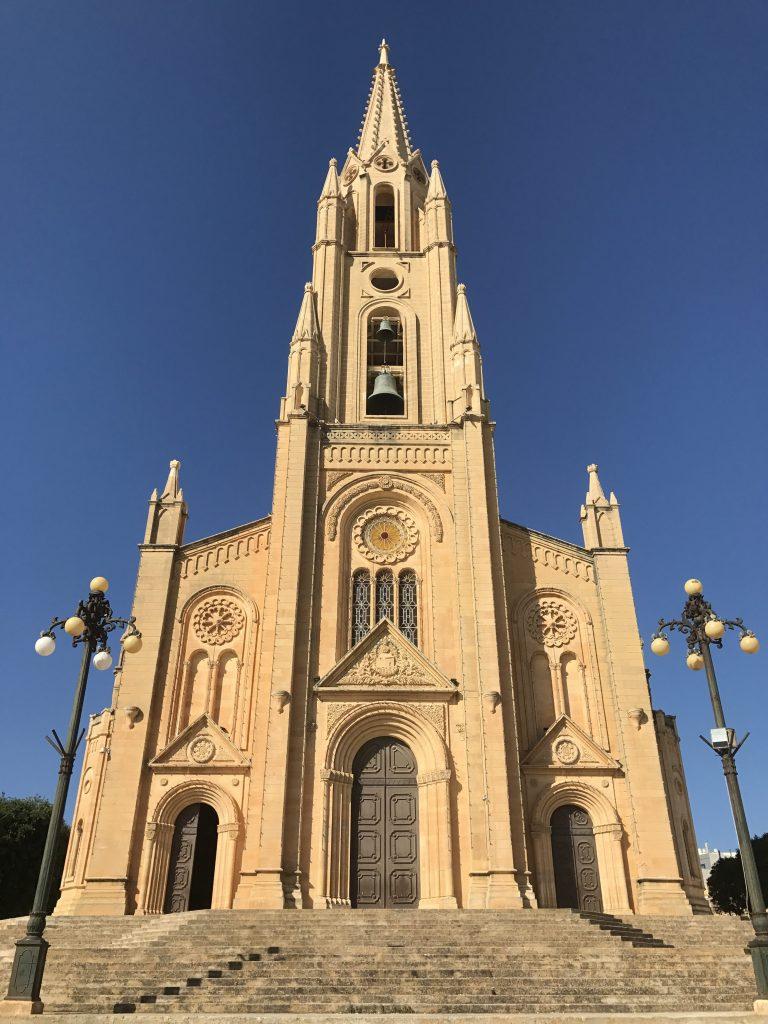 Gozo - église de Għajnsielem