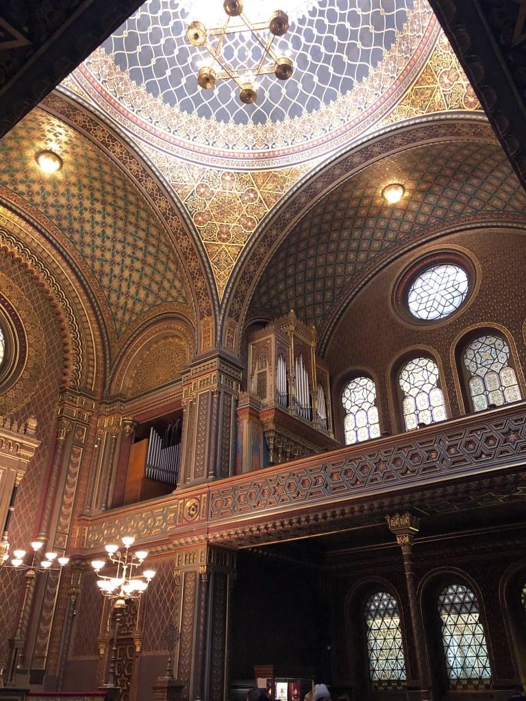Josefov - Španělská synagoga
