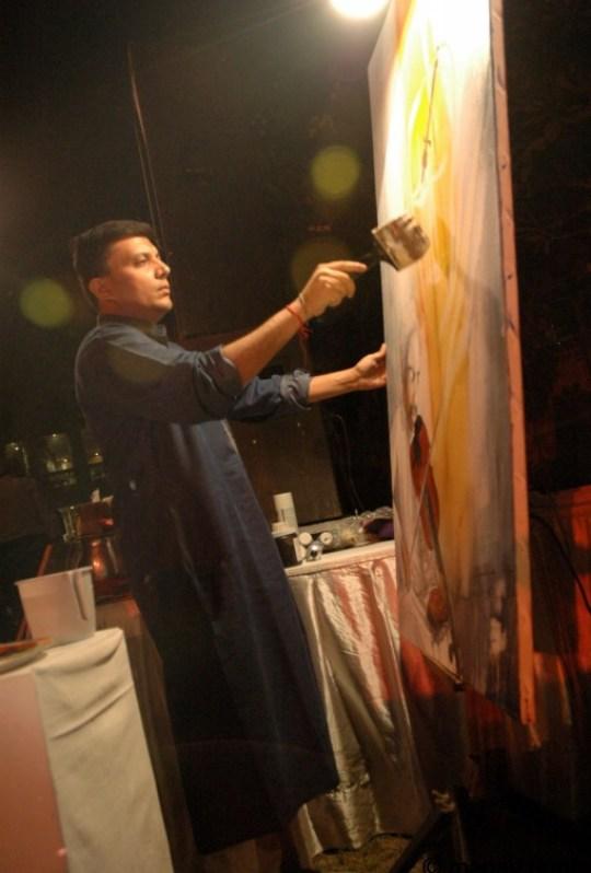 Manav Gupta Performance Art