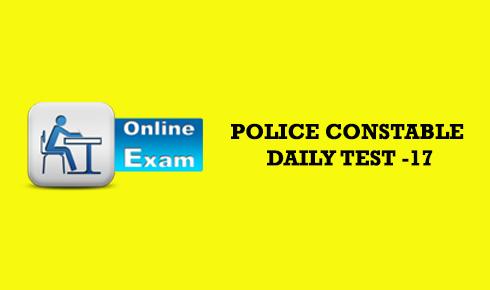 police constable online exam