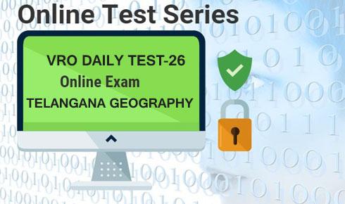 TSPSC VRO DAILY TEST 26