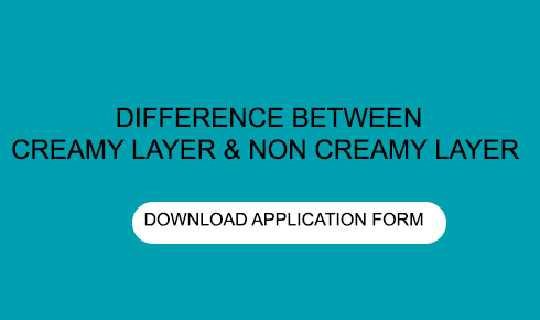 WHAT IS THE DIFFERENCE BETWEEN CREAMY LAYER AND NON CREAMY LAYER