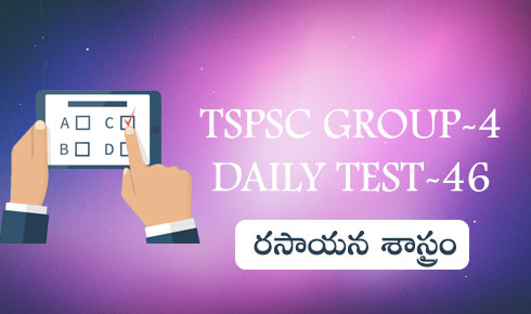 TSPSC GROUP-4 DAILY TEST-46