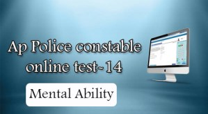 Ap Police constable online test-14