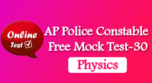 AP Police Constable Free Mock Test-30