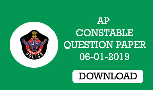 ap constable prelims question paper 2019
