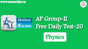 AP Group-II Free Daily Test-20