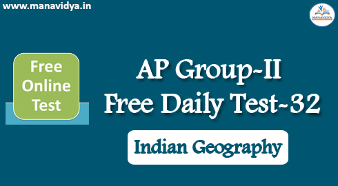 AP Group-II Free Daily Test-32