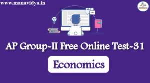 AP Group-II Free Online Test-31