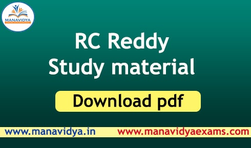 rc reddy general studies study material in telugu