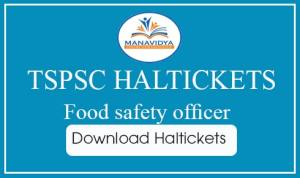 Food safety officer jobs hal tickets download