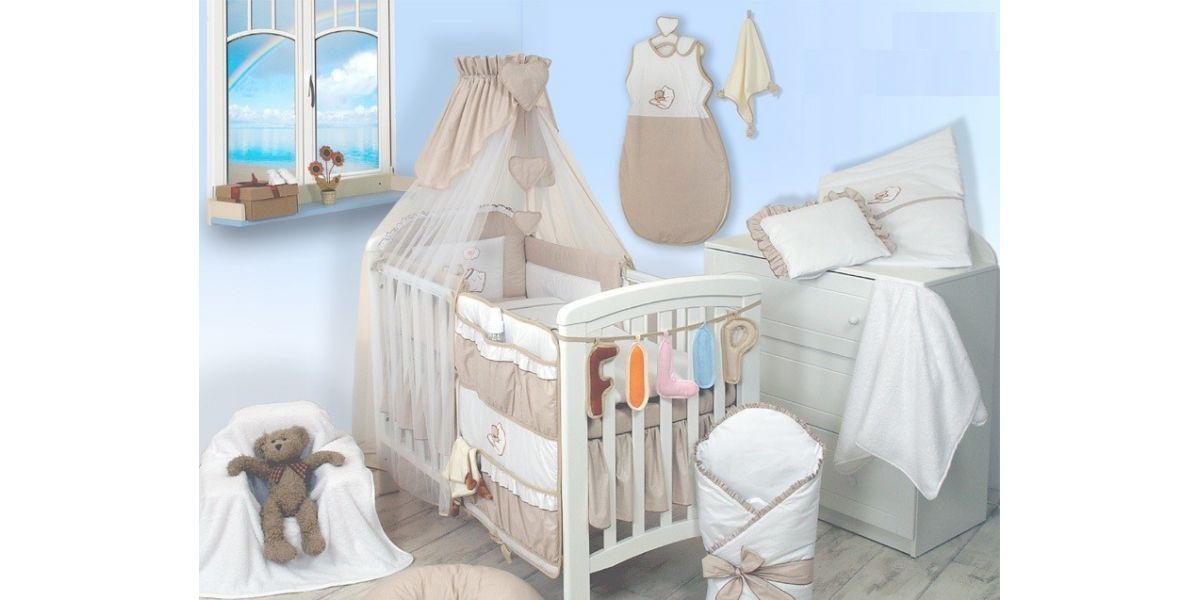 Skon Baby Tremmeseng Med Madras Sengerand Dyne Pude
