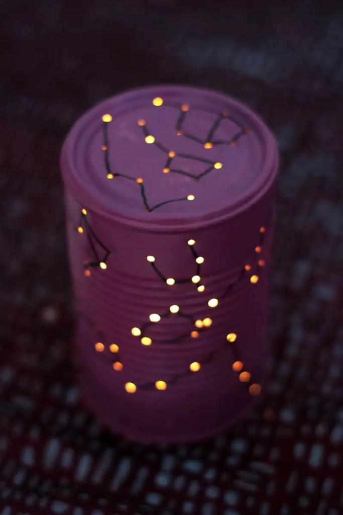 DIY : Lanterne «cosmos»