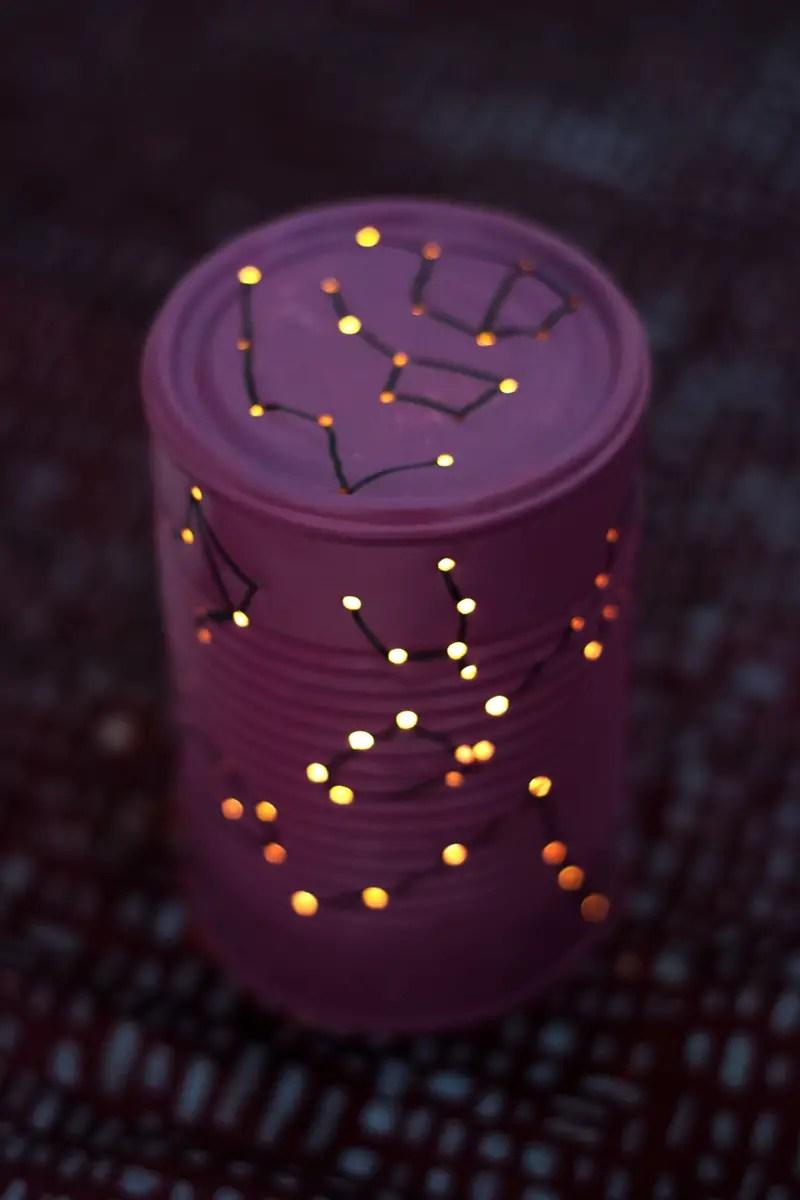 """DIY lanterne """"cosmos"""""""