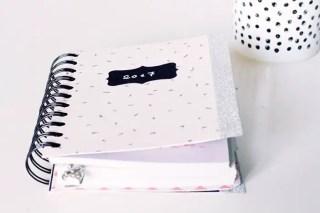 DIY agenda, pour créer un agenda 100% personnalisé ! graphic