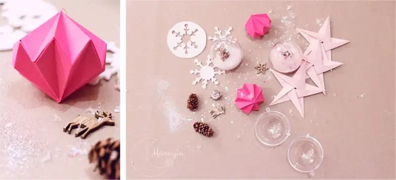 DIY décoration de sapin de Noël