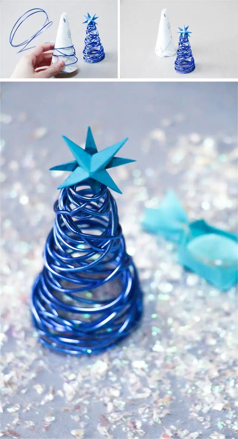DIY décoration table de Noël