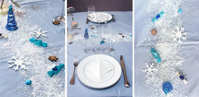 DIY table de Noël