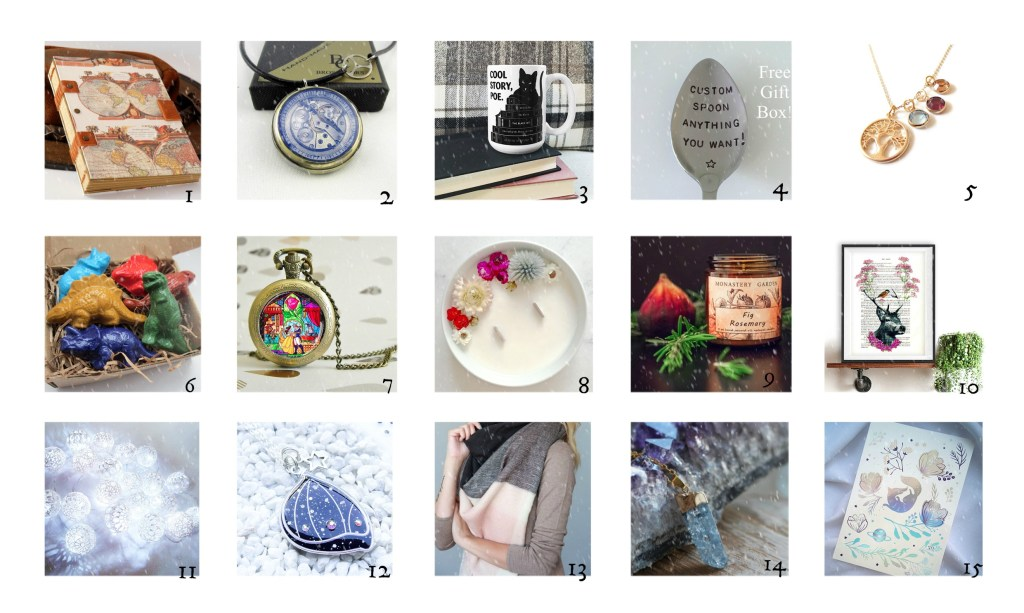 Coups de coeur Etsy – Idées cadeaux