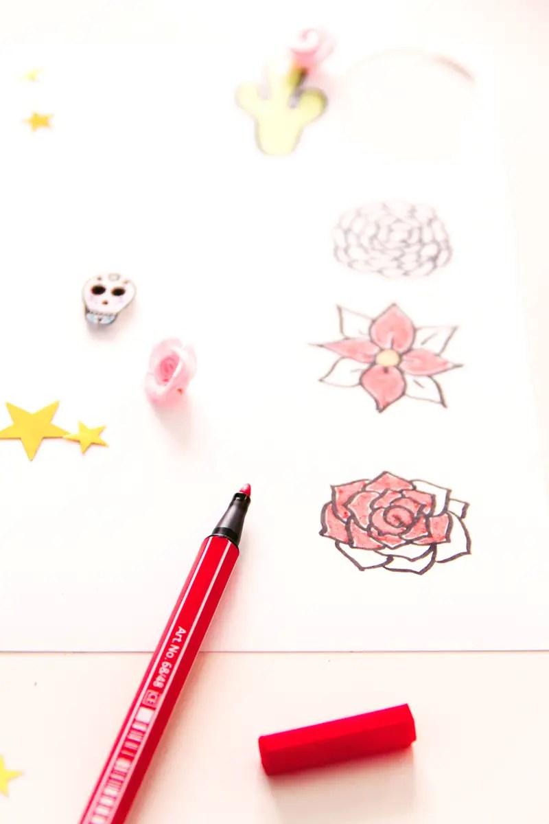DIY collier inspiration Frida Kahlo