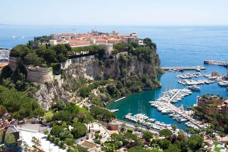 Monaco - Le Rocher