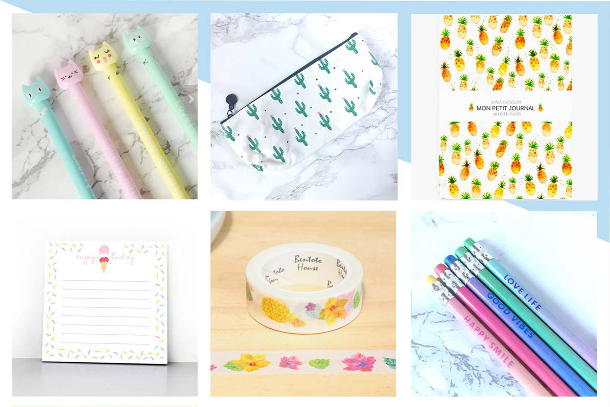 Wishlist Etsy # Août + sélection « Back to school »