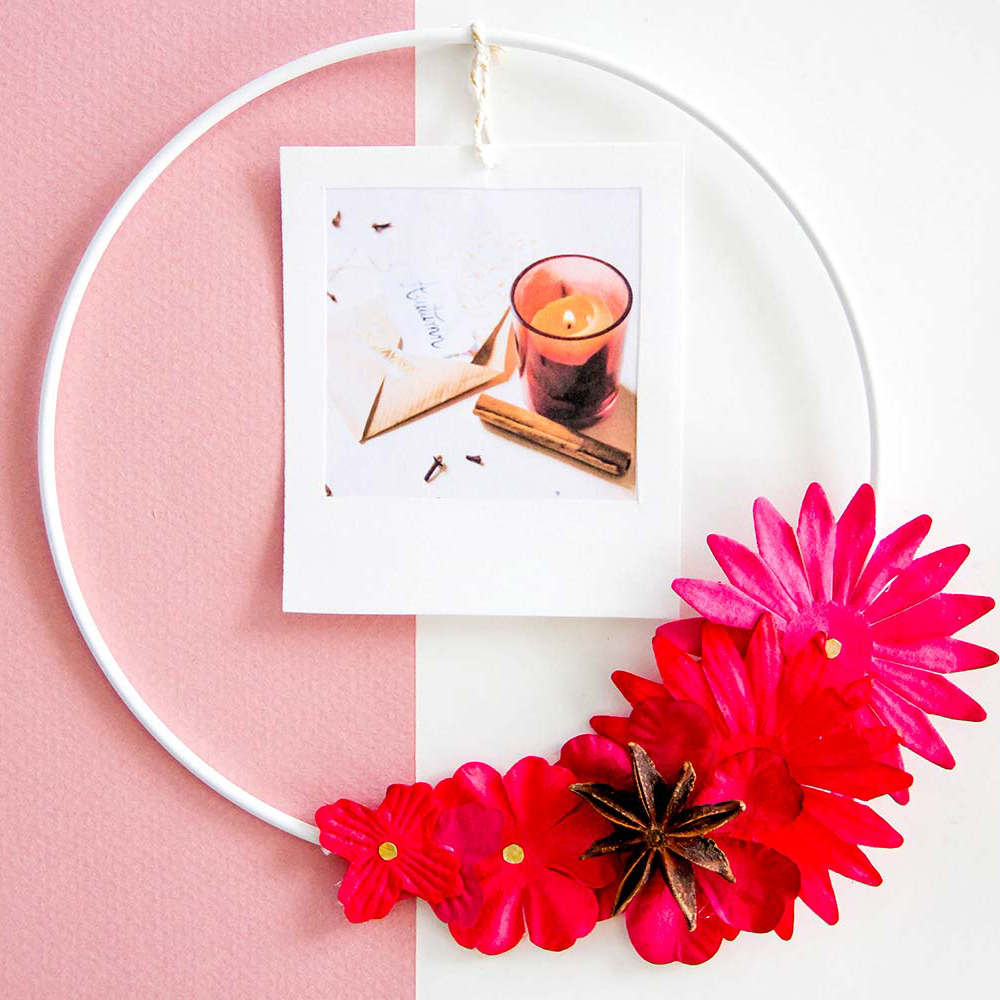 DIY Automne : le porte-photo automnal