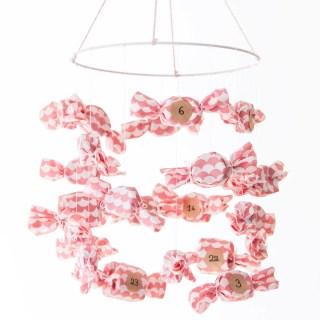 DIY : Calendrier de l'Avent 2017 – en forme de bonbons ! graphic