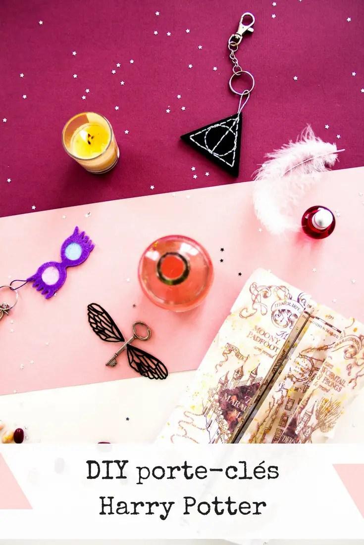 DIY Halloween : porte-clés Harry Potter