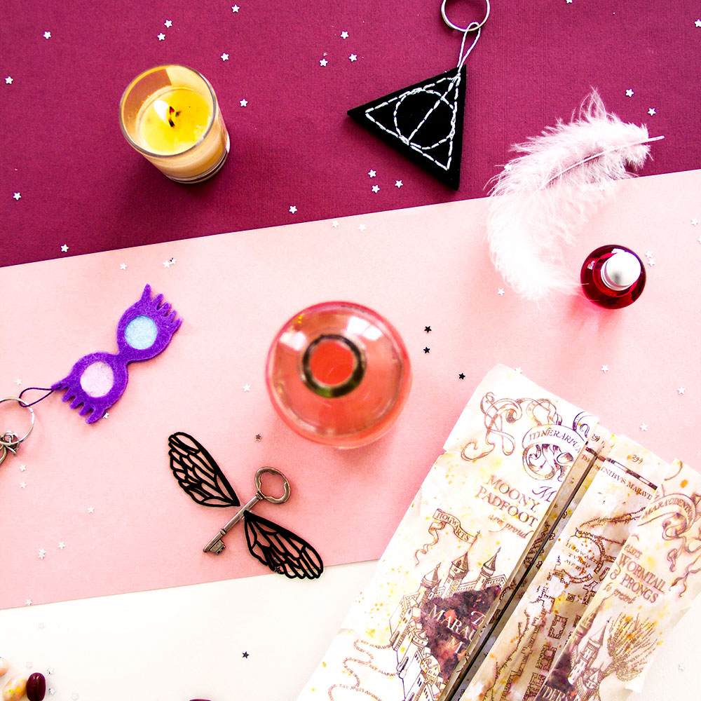 DIY Halloween #1 : porte-clés Harry Potter