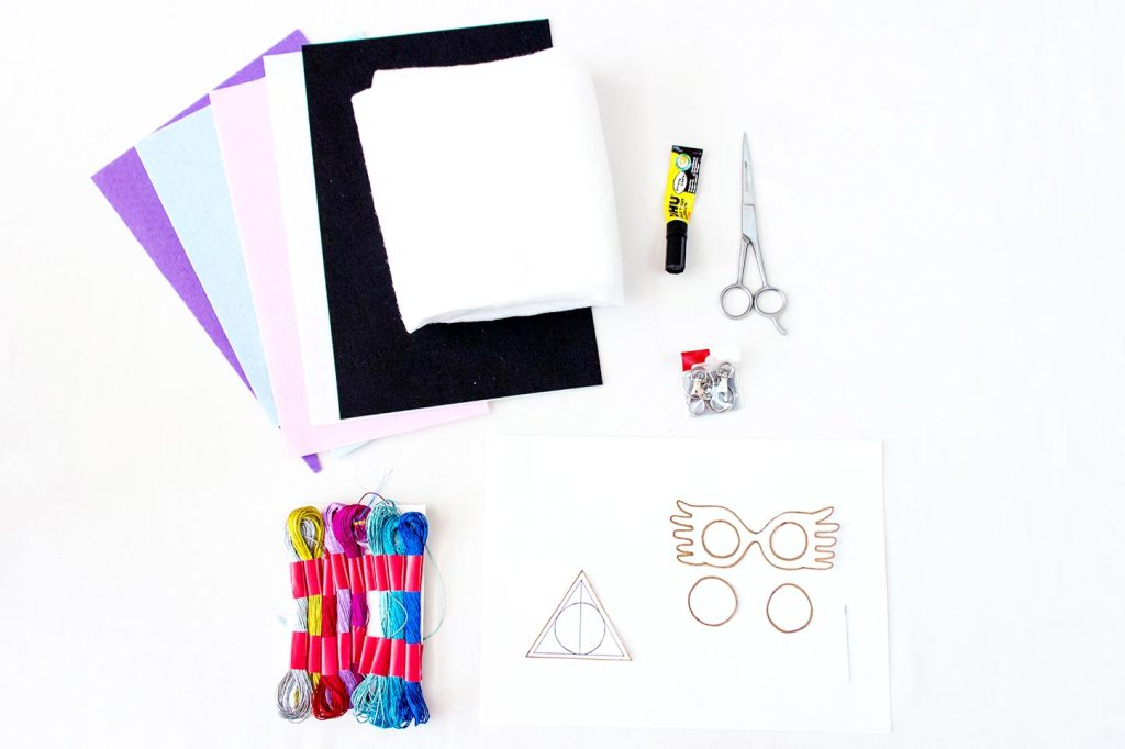 DIY Halloween : porte-clés Harry Potter