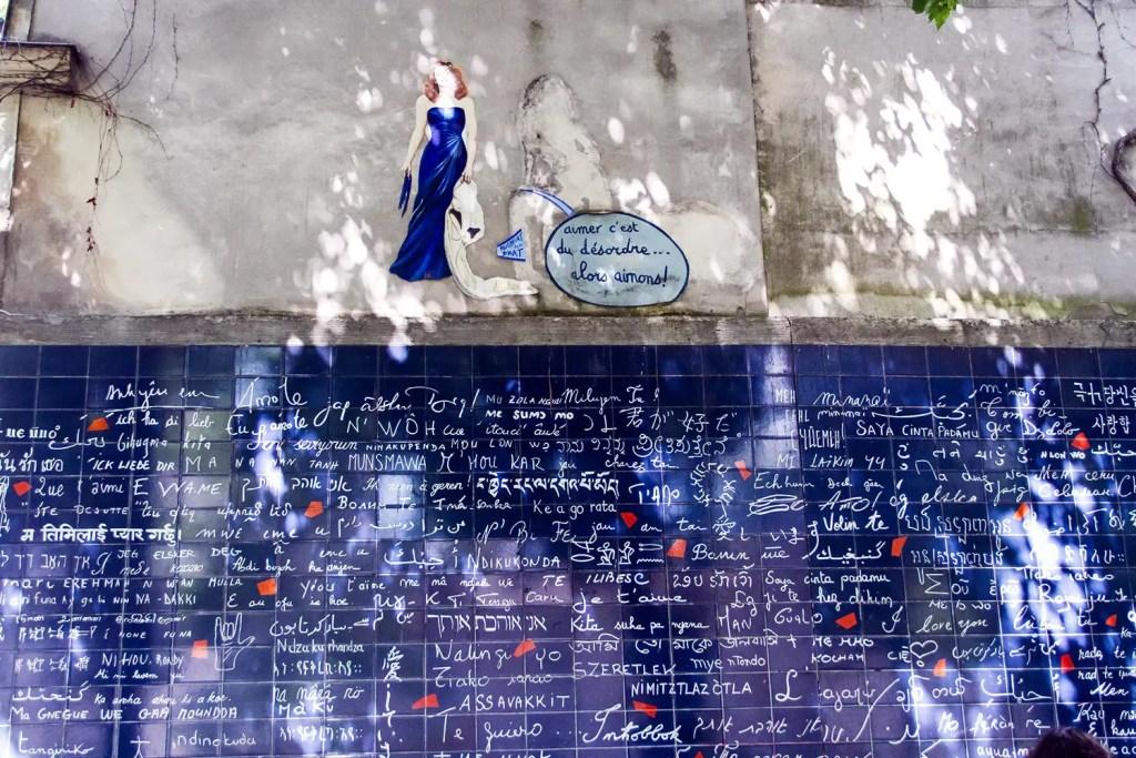 Mur des je t'aime - Montmartre