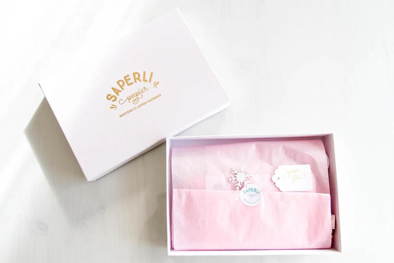 Box Saperlipapier - Douceur givrée