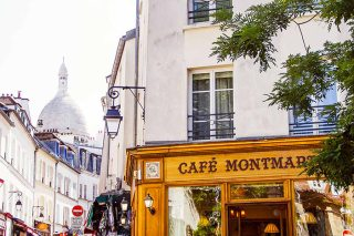 Une balade à… Montmartre, et dans les passages couverts de Paris graphic